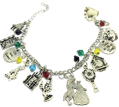 Premium Quality # Beauty and the Beast Bracelet Style No1 ** FREE GIFT BAG with ALL (Man Iron Halloween Suit)