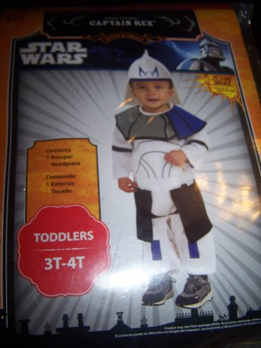 Star Wars Kostüm Clone Trooper Captain Rex Gr -