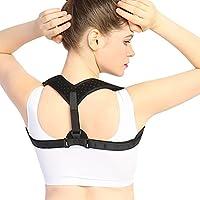 """Doact Corrector de Postura - Ajustable Soporte de la espalda y Alivio del Dolor de Espalda, Mejorar la Postura para Mujer y Hombre L(35-48"""")"""