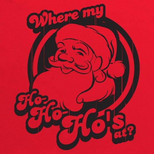 Ho Ho Ho's OG Christmas T-Shirt, Herren Rot