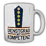 Dienstgrad mit Kompetenz Leitender Polizeidirektor Tasse Kaffeebecher Police MP Polizei #24168