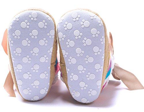 Feliz Selecionável Cereja Marrom Sapatos tamanho Centímetros Bebê Sapatos Baby Botas Meninos Sapatos 11 Algodão Inverno Rastejando Desenhada Banda Walker Pano Acr De De Comprimento De De Chinelos Meninas Ciel Impressão Unisex Neve En rrxCdnq