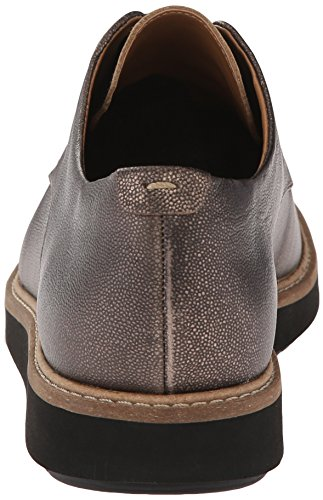 Clarks Glick Darby Wohnung Champagne Metallic Leather