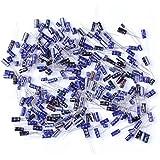 Tenflyert pack de 210 25 Valor 0.1uF-220 condensadore electrolíticSurtido Kit Set