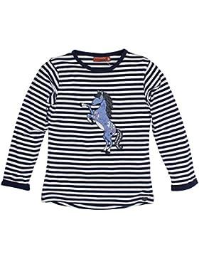 SALT AND PEPPER Mädchen Langarmshirt Longsleeve Forever Stripes