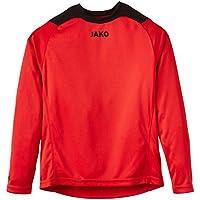 Jako Torwarttrikot Copa - Camiseta de portero de fútbol para niño, color rojo/negro, talla 6 años (116 cm)