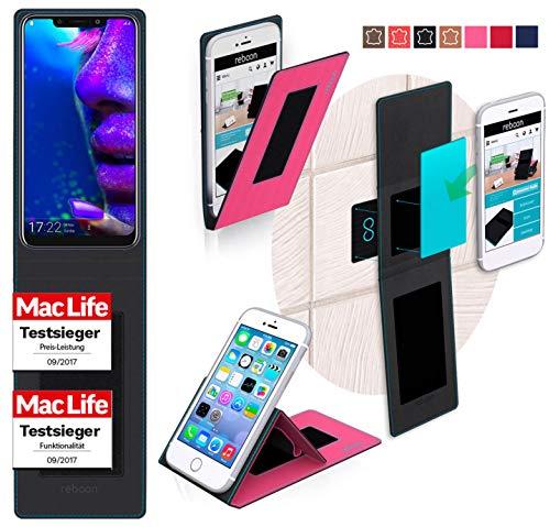 reboon Hülle für Allview X5 Soul Tasche Cover Case Bumper   Pink   Testsieger