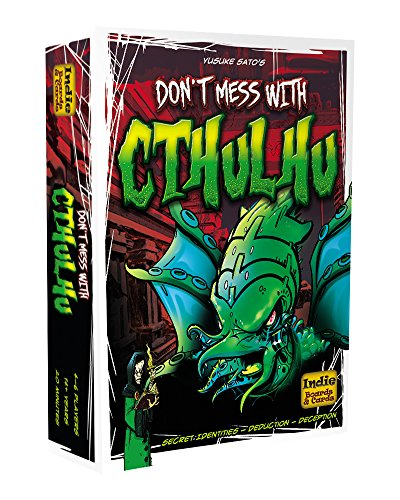Indie Board & Card Games IBG0DM01 - Brettspiel 'Don't mess with Cthulhu'