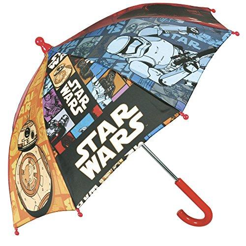 Star Wars - Kinderschirm Perletti mit manueller Sicherheitsöffnung und abgerundeten, blockierten Spitzen - Perletti (Jungen Stormtrooper Kostüme)