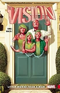 Vision Vol. 1: Little Worse Than A Man (0785196579) | Amazon Products