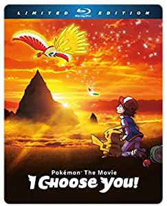 Pokemon The Movie: I Choose You! LImited Edition Blu-ray Steelbook