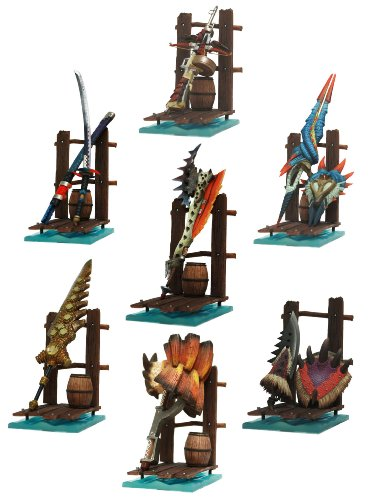 Monster Hunter Hunting Weapons Collection Vol.2 12 pieces (PVC Figure)