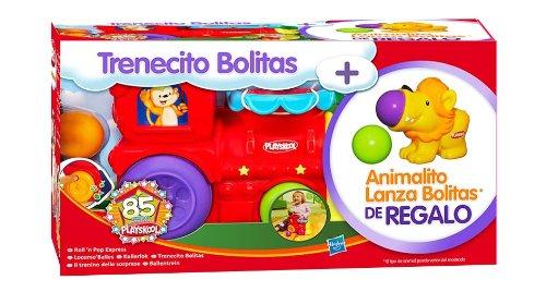 Playskool Pack trenecito y animalitos lanzabolas (Hasbro A5885500)
