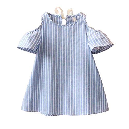 Uomogo® l regno di ghiaccio - ragazze - frozen - abito vestiti bambina 5-13 anni (età: 11/12 anni, blu)