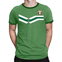 Tee Spirit Mexico Camiseta Para Hombre World Cup 2018 Fútbol New Style Retro 943c0dc516e28