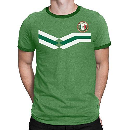 Tee Spirit Mexico Camiseta Para Hombre World Cup 2018