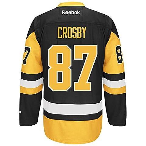 Sidney Crosby Pittsburgh Penguins Reebok NHL Alternate Premier Maillot