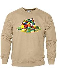 Melting Rubix Cube Puzzle Art Herren Kinder Super Subße Gift
