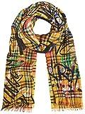 BURBERRY Damen 4075814 Gelb Wolle Schal