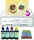 Edible Printer kit - Canon TS5051 A4 Printer with Refillable Ink Cartridges