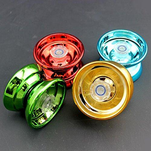 Flikool Professional Legierung Metall Yo Yo Balls with Strings Beginners Yo-Yos Kinder Spielzeug - Zufallige Farbe