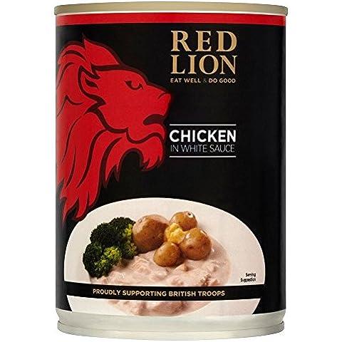 Red Pollo Leone In Salsa Bianca (392g) (Confezione da 6)