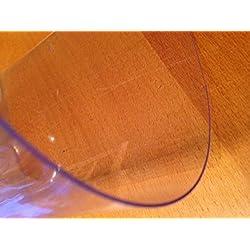 Nappe Transparente Cristal Epaisse 80/100 Longueur 100cm