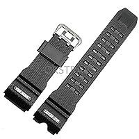 FidgetGear Replacement Watch Band Strap for GWG-1000GB-1A G-SHOCK MUDMASTER MUDMAN Black
