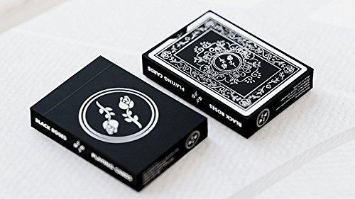 SOLOMAGIA Mazzo di Carte Black Roses Playing Cards - Mazzi di Carte da Gioco - Giochi di Magia