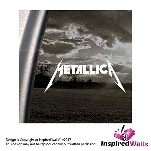 Preisvergleich Produktbild Metallica Rock Band Abziehbild Auto Truck Fenster Aufkleber by Inspired Walls®