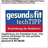 Newgen Medicals Fitnessgeräte: 2in1 Profi-Laufband LF-412.multi mit Fitness-Station und Bandmassage (Laufband mit Massageband) - 6