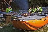 Sportartikel:RAFTING SCHLAUCHBOOTE - GUMOTEX - ONTARIO 420 - für 6 Personen - SCHLAUCH WILDWASSER KAJAK für CAMPING-CARAVAN-OUTDOOR-FREIZEIT - VERTRIEB HOLLY PRODUKTE STABIELO ® - INNOVATIONEN MADE in GERMANY - holly-sunshade ® - Farben ORANGE - GRÜN -