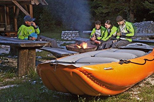 Rafting SCHLAUCHBOOTE - GUMOTEX - Ontario 420 - für 6 Personen WILDWASSER KAJAK - Farbe ORANGE -