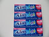 Aim Toothpaste for Kids(4) 4.8 Oz Tubes