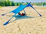 BeachMonkey Strand-Zelt Strand-Muschel **Summer-End Sale 2018** NEU in Den Farben Rot