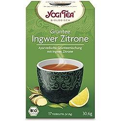 YogiTee Bio Yogi Tea? Grüntee Ingwer Zitrone Bio (1 x 17 Btl)