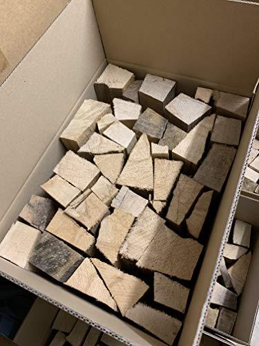 Leña para chimenea de Alemania, leña, haya, 25 cm en caja de...