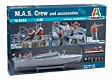 Italeri 5611 - M.A.S.  Crew And Accessories Model Kit  Scala 1:35