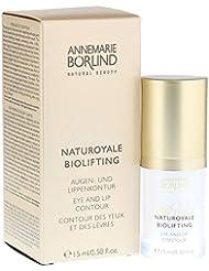 Annemarie Börlind Naturoyale Biolifting femme/woman, Augen- und Lippenkontur, 1er Pack (1 x 15 ml)