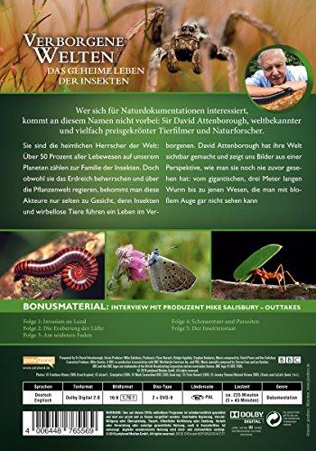 David Attenborough: Verborgene Welten - Das geheime Leben der Insekten [2 DVDs]