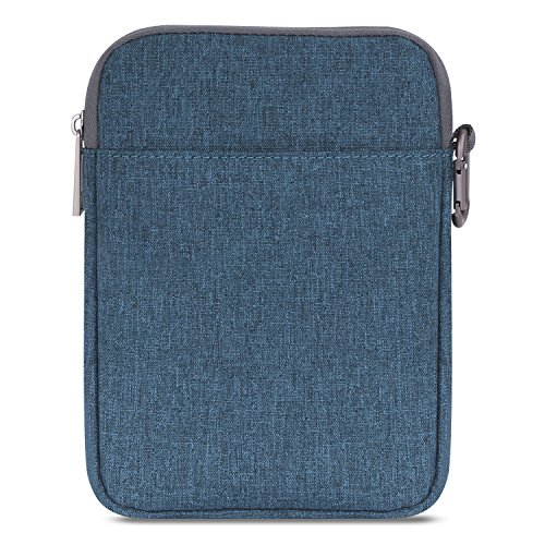 MoKo Kindle Paperwhite/Kindle Voyage Sleeve Hülle - Tragbare Nylon Schutzhülle Tasche für Amazon Kindle Paperwhite/Voyage / 6 inch Kindle Oasis/Kindle 8. / HD 6 6 Zoll, Denim Blau