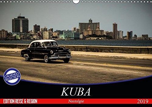 Kuba Nostalgie 2019 (Wandkalender 2019 DIN A3 quer): Kuba - 12 klassische Motive im Retro-Look (Monatskalender, 14 Seiten ) (CALVENDO Orte)
