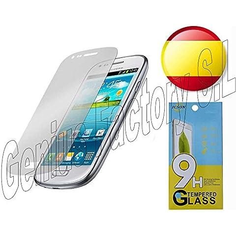 Genius Factory @ Displayschutzfolie aus Hartglas für alle Modell Samsung Note 12345S2S3S4S5S6S6Edge S3Mini S4Mini J1J5J7Grand Core A3A5A7A8Sam E5Ace