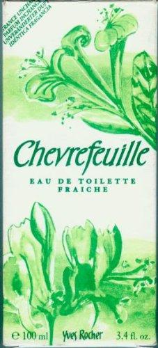 Yves Rocher - Chevrefeuille - Eau de toilette fraiche - e 100 ml. - 3.4 FL.OZ. 100ml/79 % vol. [Yves Rocher, 78789, Geißblattblüte] -