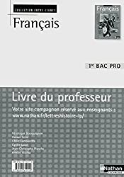 Français 1re Bac Pro