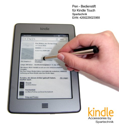 ift für AMAZON Kindle Touch & WIFI & 3G Paperwhite Fire Fire HD mit 15 cm (6 Zoll) Display - Stylus für Touch Display des E-Book Readers Kindle Touch & Wifi ()