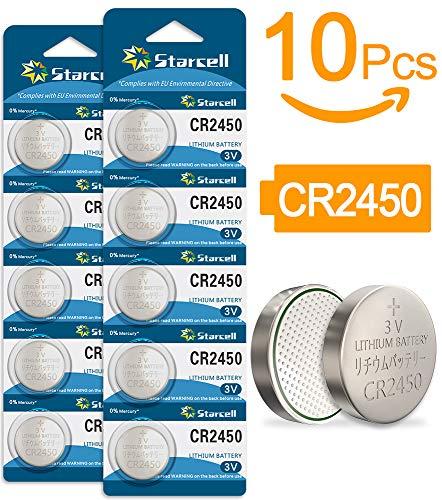Act 3V Lithium-Knopfzelle CR2450 Batterien, 10er Votivkerzen, Teelichter, Video, Computer, Rechner, IC-Karten, elektrische Produkte