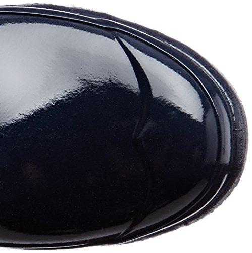 Stivali Alti In Gomma Da Cacciatore Originale High Gloss W23616 Blu (blu Scuro)