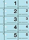 Avery Zweckform 867 Garderobennummern