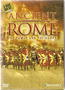 DISCOVERY CHANNEL - 3 DISC BOX SET - ANCIENT ROME - THE POWER & THE GLORY - NEW AND FACTORY SEALED - VERY COLLECTABLE AND RARE TO FIND - 3 DISC BOX SET